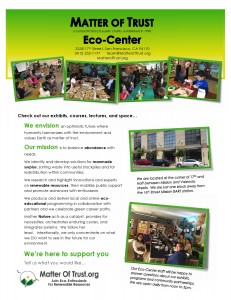 general eco center flyer page 1