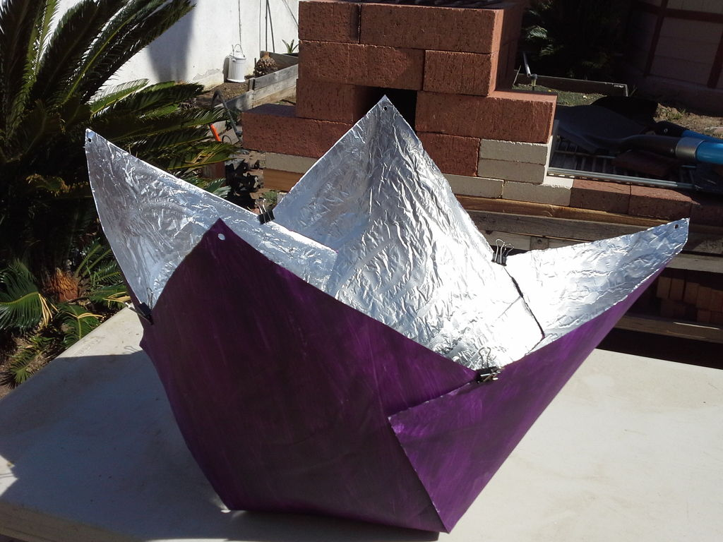 Build a solar cooker for just 5 matter of trust for How to build a solar oven for kids