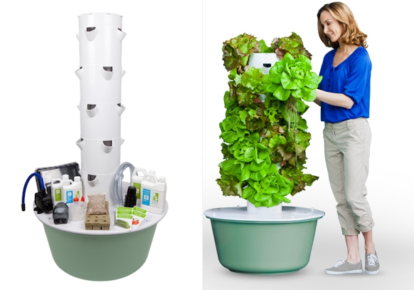 Good The Tower Garden Growing System Stands 5 Feet Tall, And Can Accommodate Up  To 20 Plants In Its Compact Footprint. This $500 Aeroponics System Includes  The ...