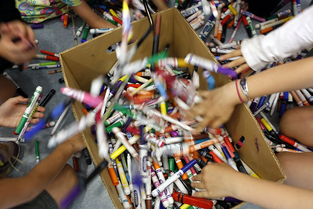 Crayola creates recycling program at urging of Bay Area kids ...