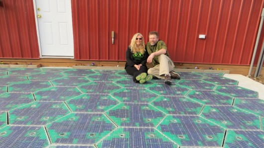 Solar Roadways Installs Energy Harvesting Parking Lot