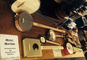 Join our Music Matters team - and make instruments with recycled materials!