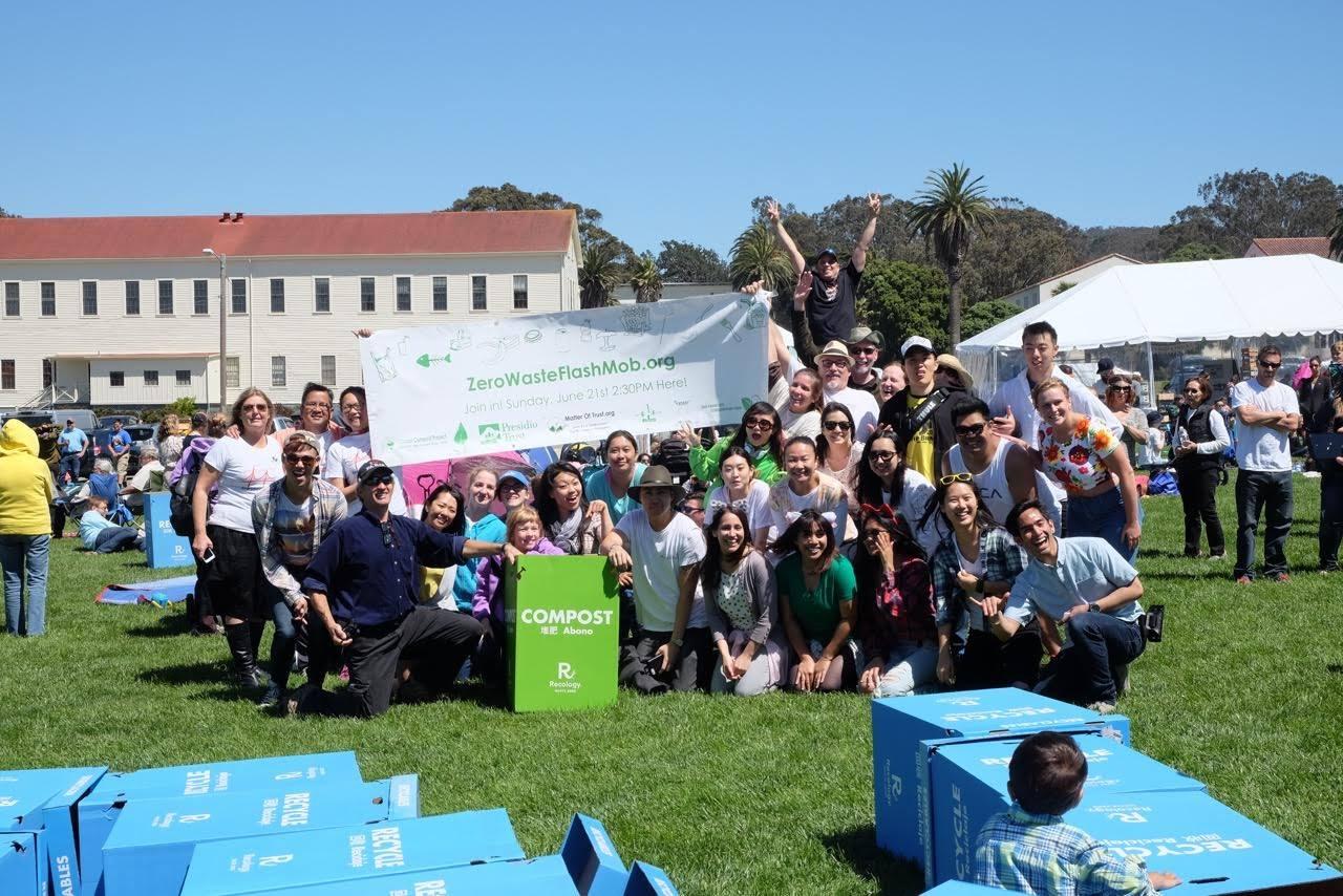 Zero Waste Flash Mob.org Team