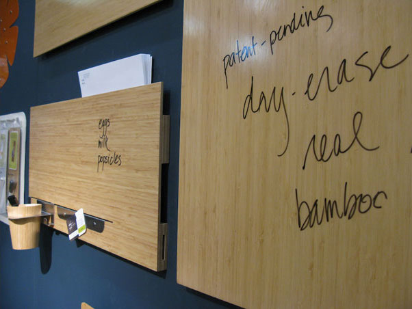 bamboo white-boards