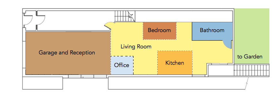 eco home floor plan