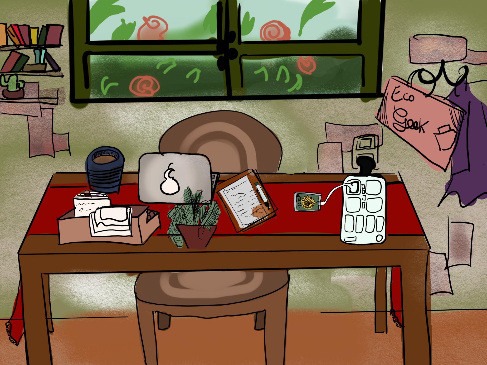 eco office art