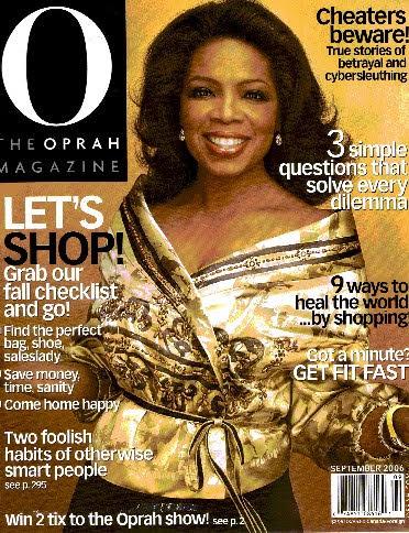 O Mag - Sep 2006 cover