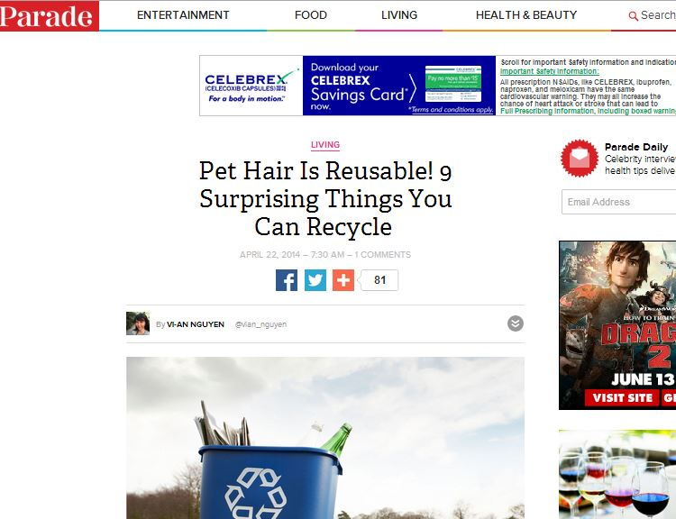 Pet Hair Is Reusable! 9 Surprising Things You Can Recycle